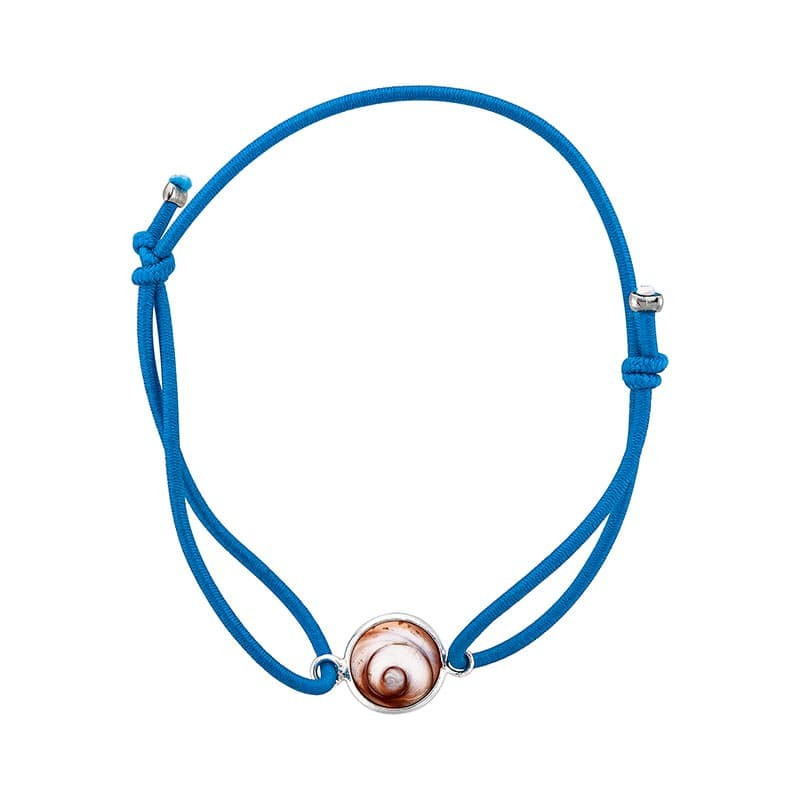 Bracelet turquoise oeil de sainte lucie méditerranéen