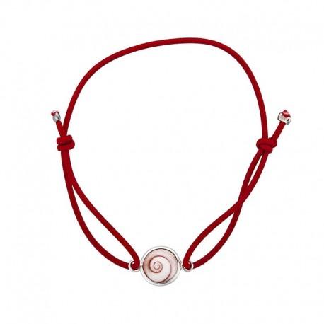 Bracelet rouge oeil de sainte lucie méditerranéen
