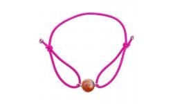 Bracelet rose oeil de sainte lucie méditerranéen