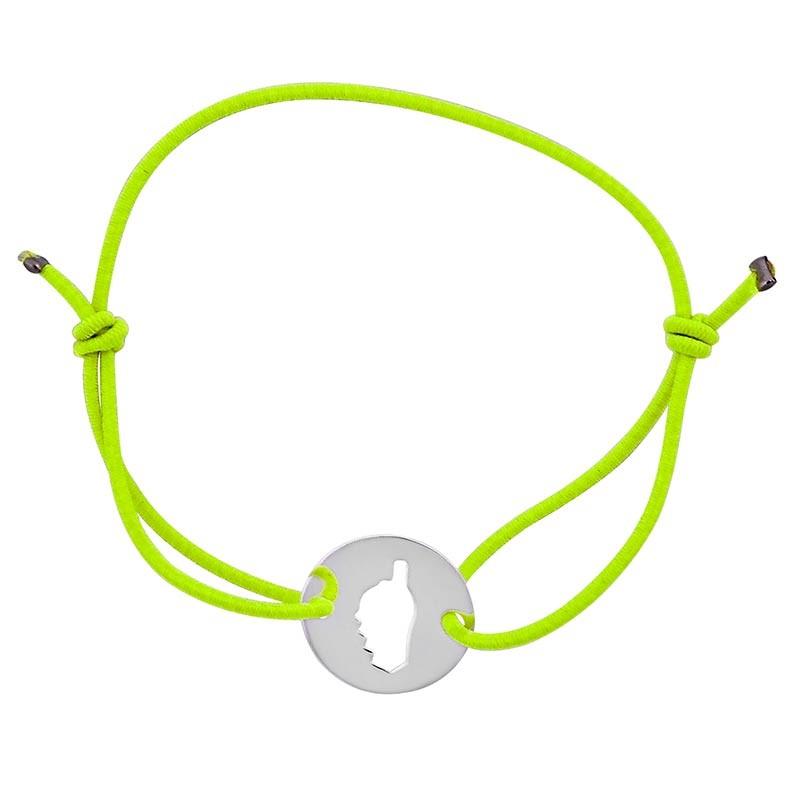 Bracelet vert avec Corse
