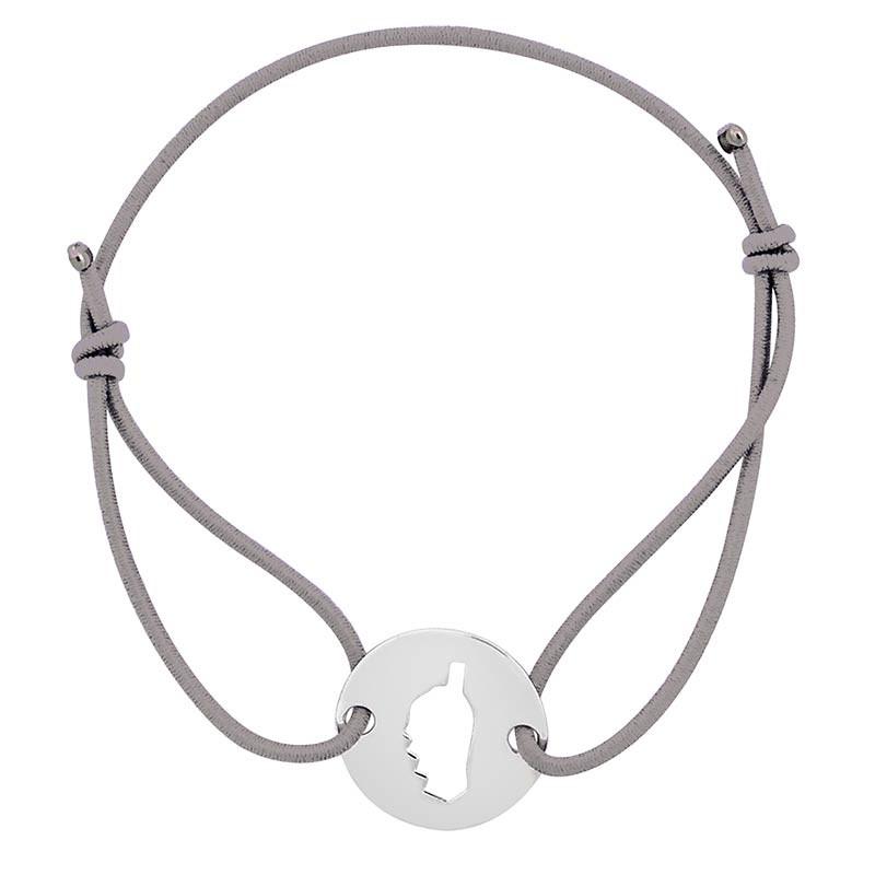 Bracelet gris avec Corse
