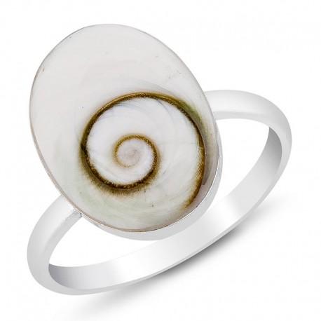 Bague réglable de forme ovale