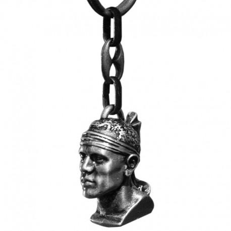 Porte clés soleil avec oeil de sainte Lucie