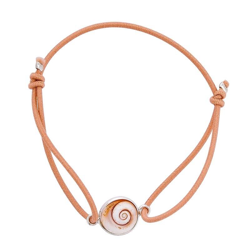 Bracelet tangerine oeil de sainte lucie méditerranéen