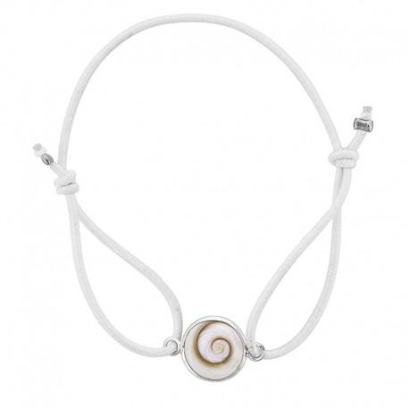 Bracelet Elastique blanc