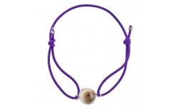 Bracelet Elastique Violet