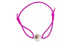 Bracelet fantaisie rose