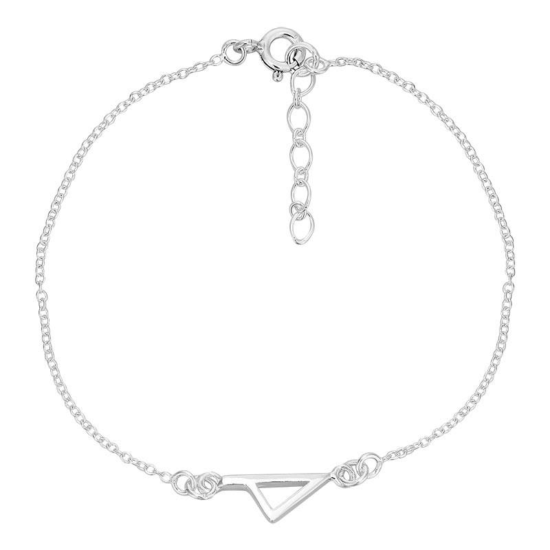 Bracelet argent corse stylisée
