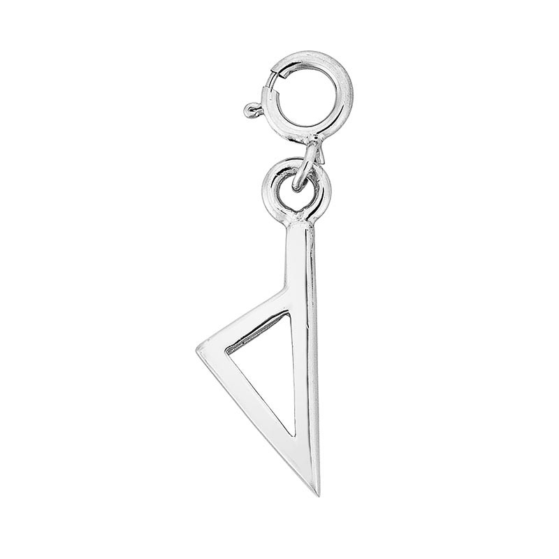 charms argent Corse stylisee