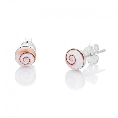 boucles d'oreilles rondes