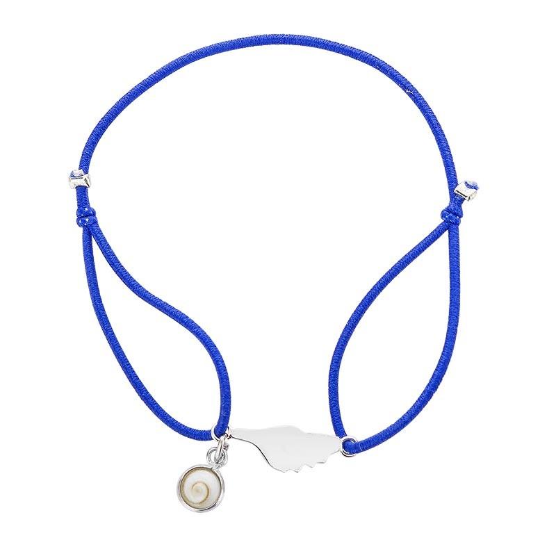 Bracelet élastique avec Corse et oeil de sainte lucie