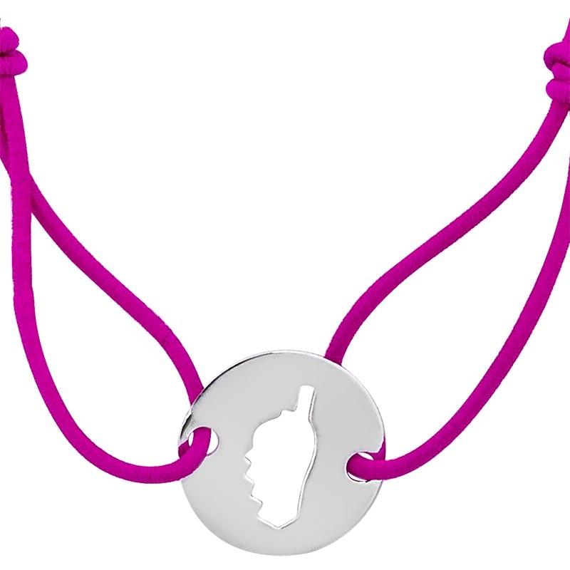 Bracelet rouge avec Corse