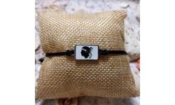 Bracelet Corse et oeil de sainte lucie noir
