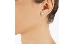 Boucles d'oreilles clou oeil de sainte Lucie