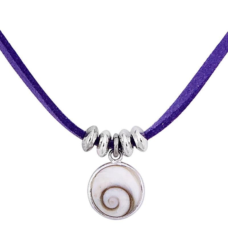 collier fantaisie avec oeil de sainte lucie